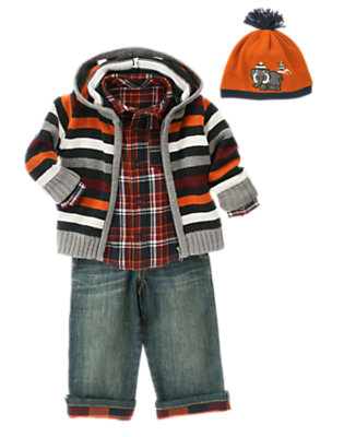 Toddler Boy's Color Me Cozy Outfit by Gymboree