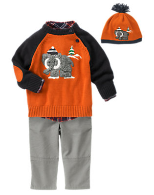 Toddler Boy's Snowy Style Outfit by Gymboree