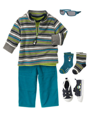Toddler Boy's Coolest Comfort Outfit by Gymboree