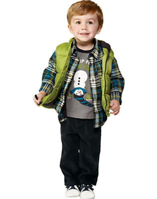 Toddler Boy's I Love Snow! Outfit by Gymboree