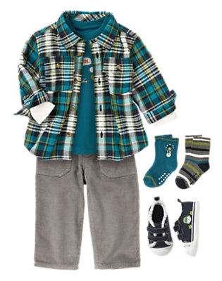 Layer On The Cool Outfit by Gymboree