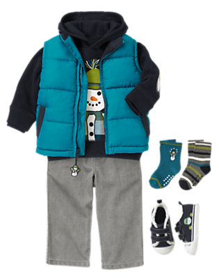 Snowball Sidekick Outfit by Gymboree