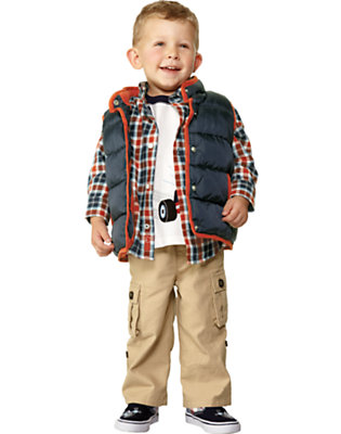Toddler Boy's Tyke On Wheels Outfit by Gymboree