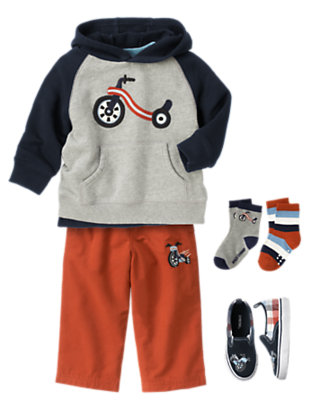 Toddler Boy's On The Go! Outfit by Gymboree