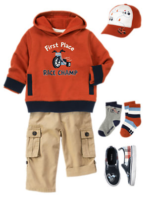 Toddler Boy's Tiny Race Champ Outfit by Gymboree