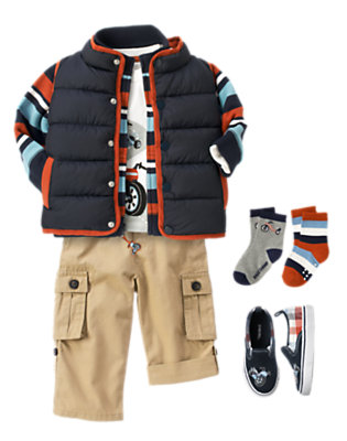 Toddler Boy's First Place Outfit by Gymboree