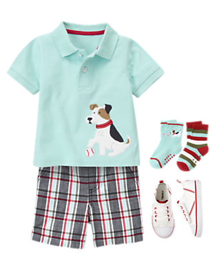 Bow Wow Baseball Outfit by Gymboree