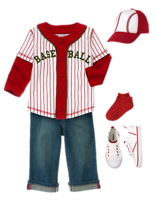Toddler Boy's Little League Outfit by Gymboree