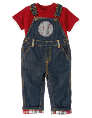 Toddler Boy's Baseball Buddy Outfit by Gymboree