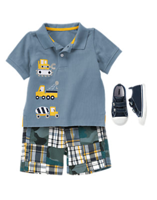 Toddler Boy's Builder Boy Outfit by Gymboree