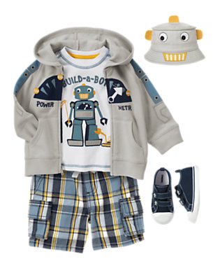 Toddler Boy's Baby Bot Outfit by Gymboree