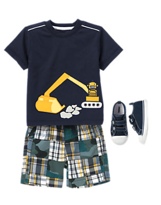 Toddler Boy's Digger Dude Outfit by Gymboree