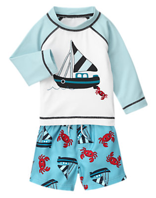 Toddler Boy's Splash Harbor Outfit by Gymboree