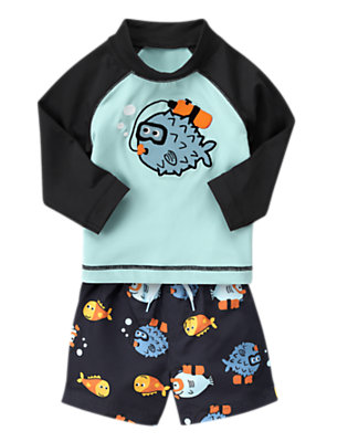 Snorkel Time Outfit by Gymboree