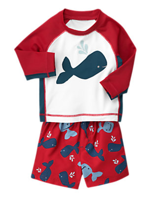 Whale Of A Tale Outfit by Gymboree