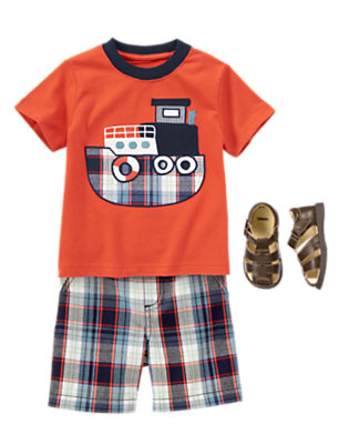 Toddler Boy's Mister Marina Outfit by Gymboree