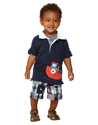 Toddler Boy's Tiny Tugboat Outfit by Gymboree