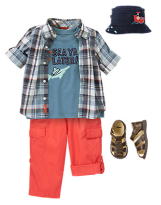 Sea Ya Later! Outfit by Gymboree
