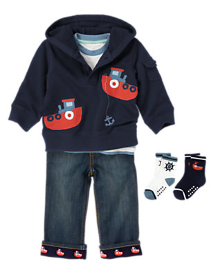 Adventures At Sea Outfit by Gymboree