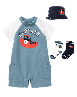 Tugboat Captain Outfit by Gymboree