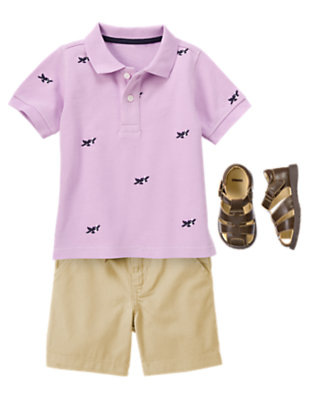 Toddler Boy's 3-2-1 Take Off! Outfit by Gymboree