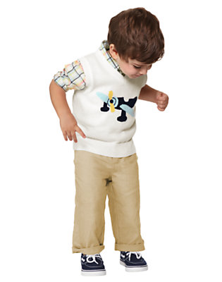 Toddler Boy's Flight Style Outfit by Gymboree