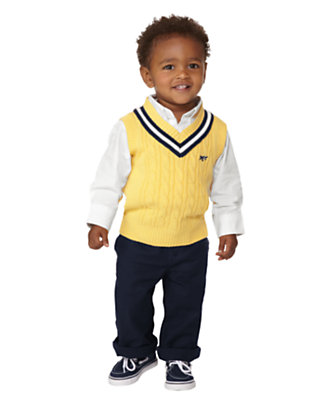 Toddler Boy's Bright Prepster Outfit by Gymboree