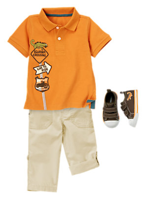Live To Ride Outfit by Gymboree