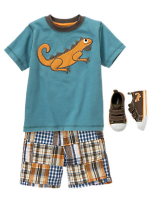 Little Lizard Outfit by Gymboree