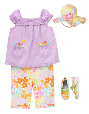 Flower Child Outfit by Gymboree