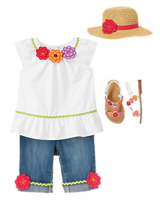 Toddler Girl's Little Gardener Outfit by Gymboree
