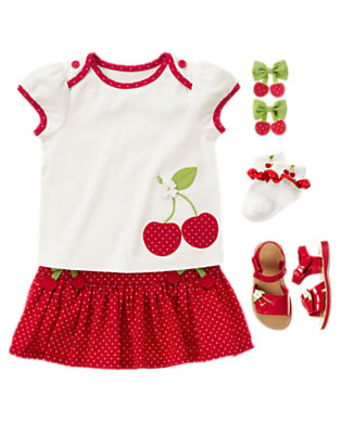 Cherry Cute Outfit by Gymboree