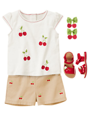 Sweet In Shorts Outfit by Gymboree