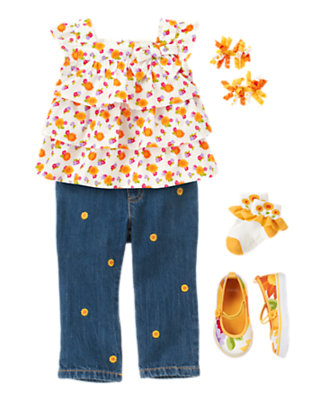 Sunflower Baby Outfit by Gymboree