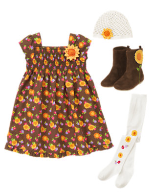 Blossom Pretty Outfit by Gymboree