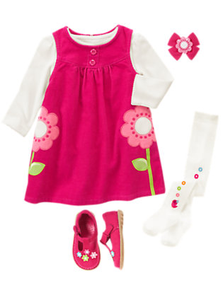 Playful Petals Outfit by Gymboree