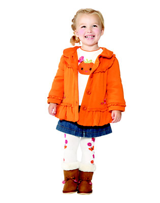 Bright Pumpkin Outfit by Gymboree