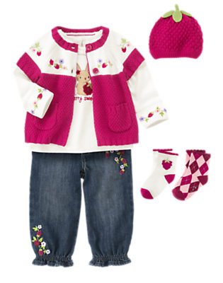 So Berry Sweet Outfit by Gymboree
