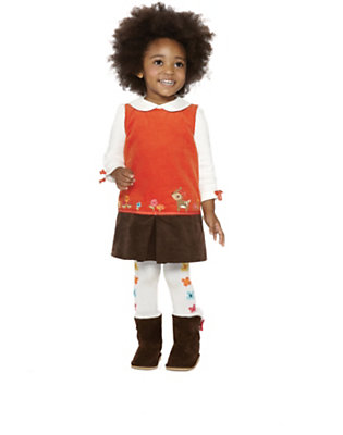 Toddler Girl's Autumn Bright Outfit by Gymboree
