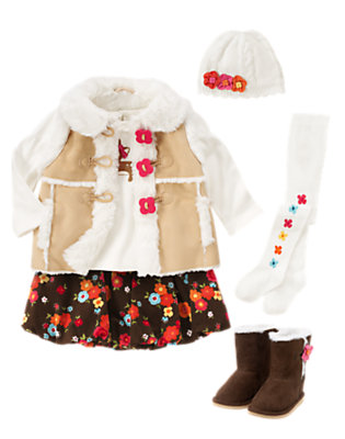 Toddler Girl's Shearling Sweetie Outfit by Gymboree