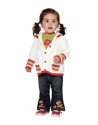 Toddler Girl's Cozy Cutie Outfit by Gymboree
