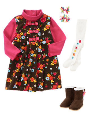 Toddler Girl's Forest Flowers Outfit by Gymboree
