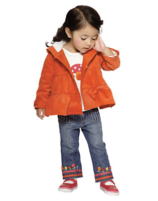 Toddler Girl's Sweet For Fall Outfit by Gymboree
