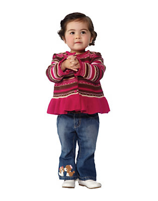 Toddler Girl's Fanciful Fair Isle Outfit by Gymboree