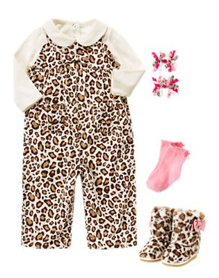Leopard Lounge Outfit by Gymboree