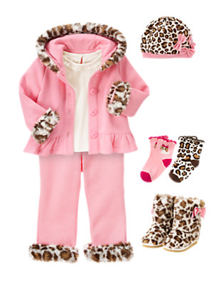 Toddler Girl's Pretty & Pink Outfit by Gymboree