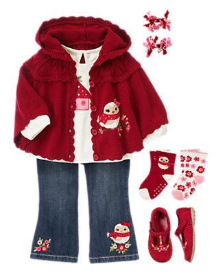 Cozy Little Owl Outfit by Gymboree