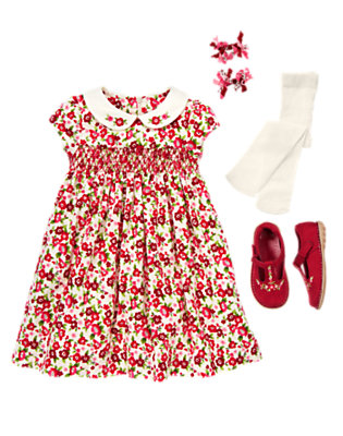 Floral Cutie Outfit by Gymboree