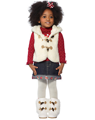 Toddler Girl's Sweet & Snug Outfit by Gymboree