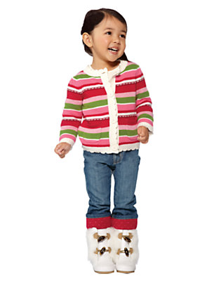 Mittens & Stripes Outfit by Gymboree